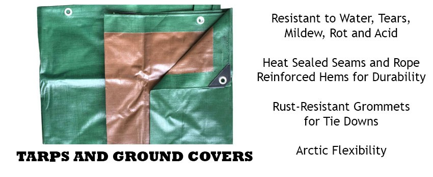 Tent Tarps & Ground Covers