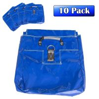 Commercial Sand Bags, Blue 10 Pack