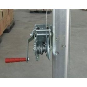 Tent Jack Winch Assembly