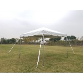 10' x 10' PVC Weekender West Coast Frame Party Tent - White