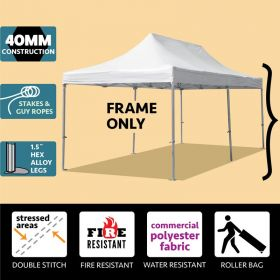 10' x 20' Oxford 40mm Speedy Party Tent Frame