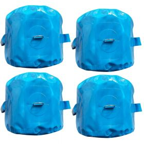 Blue 5 Gallon Water Bags - 4 Pack