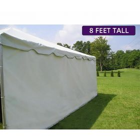 Moose Supply 30' x 40' Heavy-Duty Economy Sidewall Kit for 8' Tent Sides