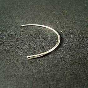 Curved Needle for Repairs