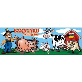 Barnyard Petting Zoo Interactive Carnival Frame Game