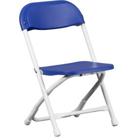 Kids Blue Plastic Folding Chairs