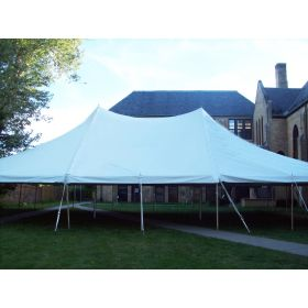 USED 40 'x 40' Party Pole Tent, C Grade