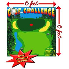 Golf Challenge Interactive Carnival Frame Game
