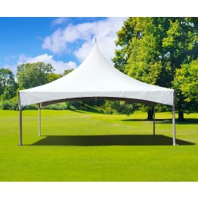 10' x 20' High Peak Frame Party Tent - White