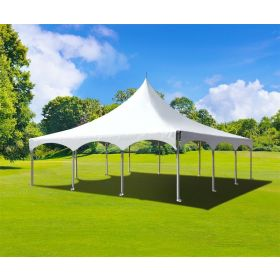 30' x 30' High Peak Frame Party Tent - White
