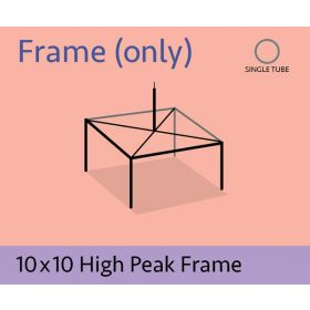 10 x 10 High Peak Frame Only