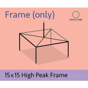 15 x 15 High Peak Frame Only