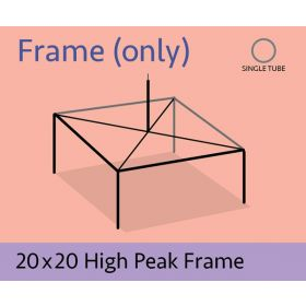 20 x 20 High Peak Frame Only