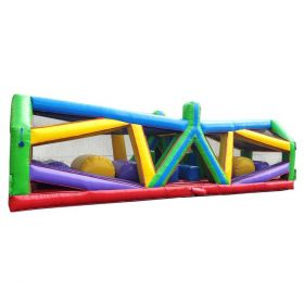 40' Retro Radical Run Extreme Unit #3 Inflatable Obstacle Course with Blower