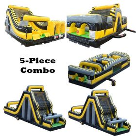 169' Venom BEAST 5-Piece Radical Obstacle Course Dual Climb