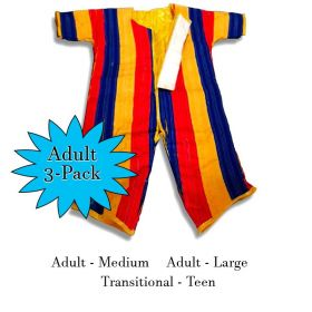 Inflatable Velcro Wall Sticky Suit 3-Pack - Adult