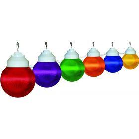 8-Globe String Lights Multi Colored