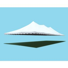 30' x 100' Premium Pole Party Tent Sectional Top - White