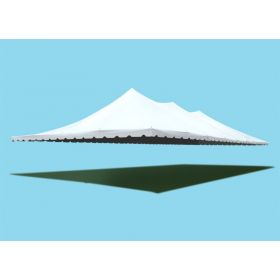 40' x 80' Premium Pole Party Tent Sectional Top - White