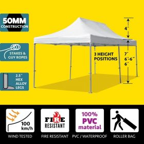 13' x 26' Speedy Pop-up Party Tent - White