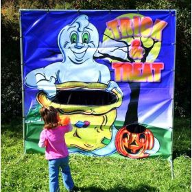 Trick or Treat Interactive Carnival Frame Game