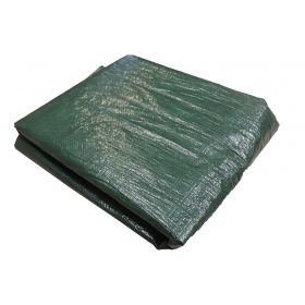4' x 18' Water Resistant Wood Pile Poly Tarp Cover