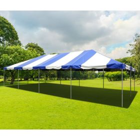20' x 40' PVC Weekender West Coast Frame Party Tent - Blue