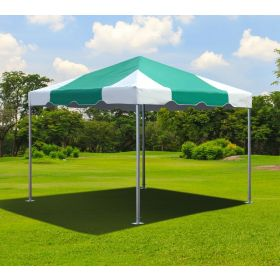 10' x 10' West Coast Frame Party Tent - Green & White