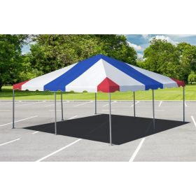 20' x 20' West Coast Frame Party Tent - Red, White, and Blue