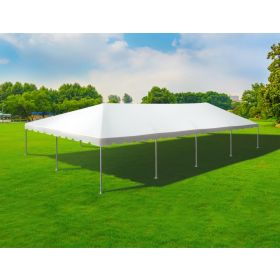 30' x 60' Single Tube West Coast Frame Party Tent - Sectional Top