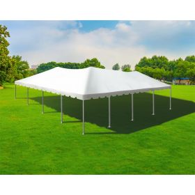 40' x 40' Single Tube West Coast Frame Party Tent - Sectional Top