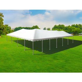 40' x 60' Twin Tube West Coast Frame Party Tent - White