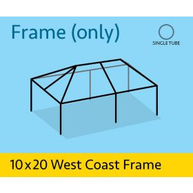 10' x 20' Replacement West Coast Tent Frame Only