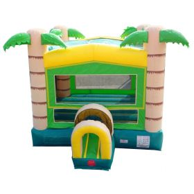 Modular Tropical Bounce House with Blower