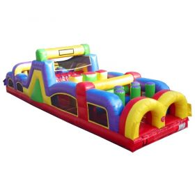 40' Retro Inflatable Obstacle Course