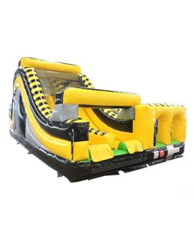 Venom Radical Run Inflatable Obstacle Course with Blower