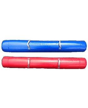 Blue and Red Air Filled Joust Poles - Two Pack
