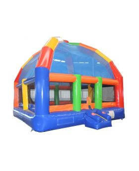 22' x 22' Big Bubba Rainbow Giant Bounce House with Blower