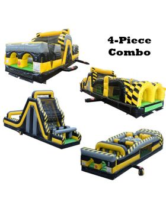 140' Venom GIANT 4-Piece 7E Obstacle Course Climb