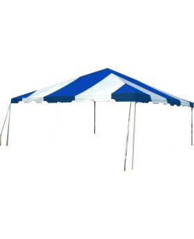 10' x 20' West Coast Frame Party Tent - Blue and White