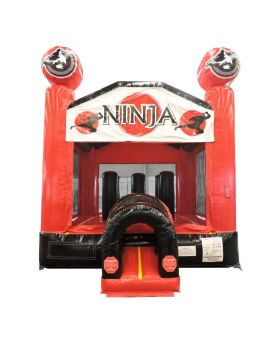Ninja Attack Bounce House with Blower