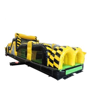 40' Venom Inflatable Obstacle Course with Blower