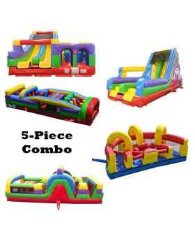 152' Retro BEAST 5-Piece Radical Obstacle Course