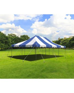20' x 30' Weekender Standard Canopy Pole Tent - Blue