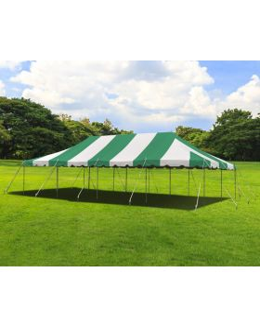 20' x 40' Weekender Standard Canopy Pole Tent - Green
