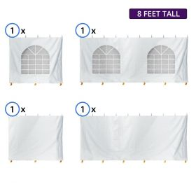 10' x 20' Standard Sidewall Kit for 8' Tent Sides