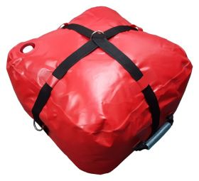10 Gallon Red Water Bag - Inflatable Anchor