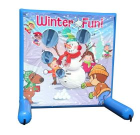 Winter Fun, Sealed Air Inflatable Frame Game