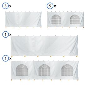 30' x 100' Standard Sidewall Kit for 7' Tent Sides