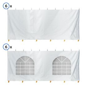 40' x 80' Standard Sidewall Kit for 7' Tent Sides